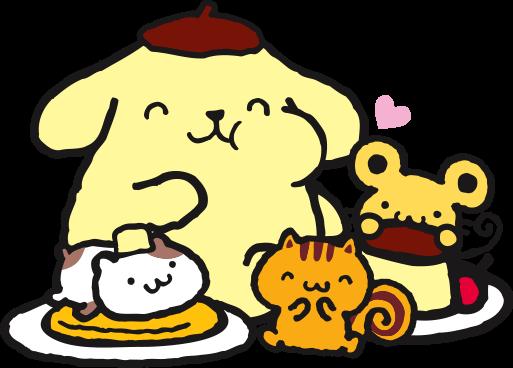 Sanrio's Pompompurin