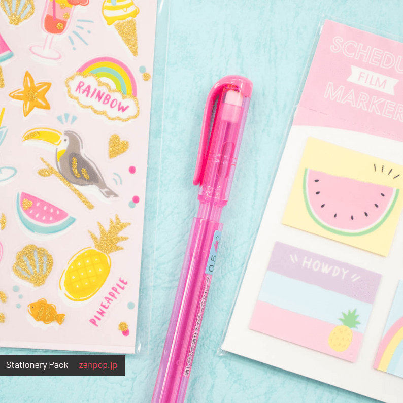 ZenPop's June Stationery Pack 2