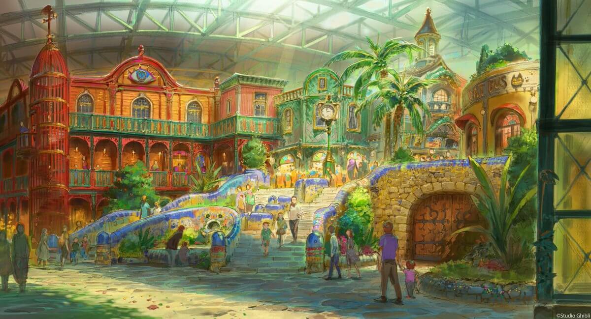 Ghibli Theme Park concept design