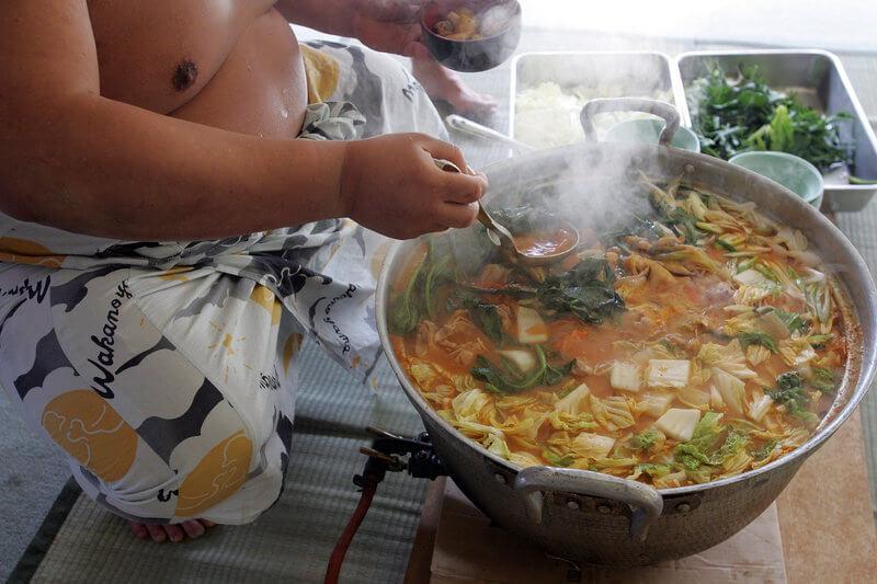 Sumo stew (chanko nabe)