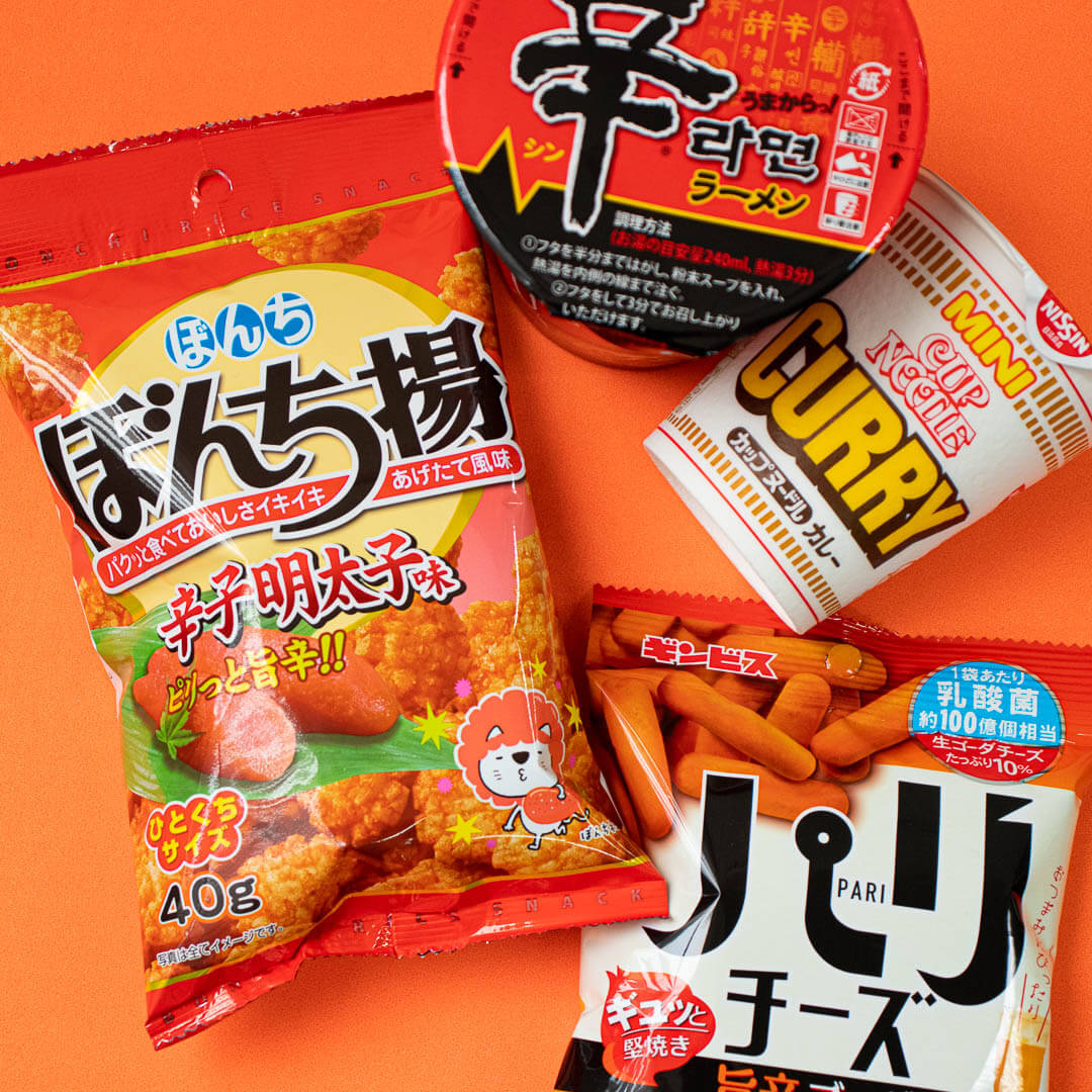 ZenPop's August Ramen + Sweets Mix Pack