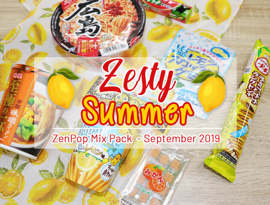 ZenPop's Zesty Summer Ramen + Sweets Mix Pack