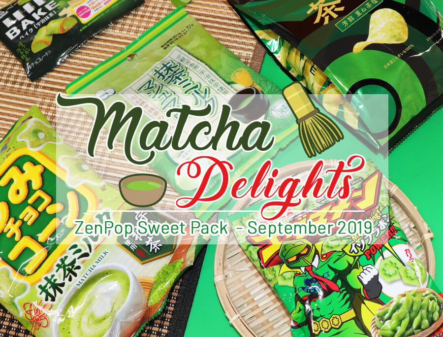 ZenPop's Matcha Delights Sweets Pack