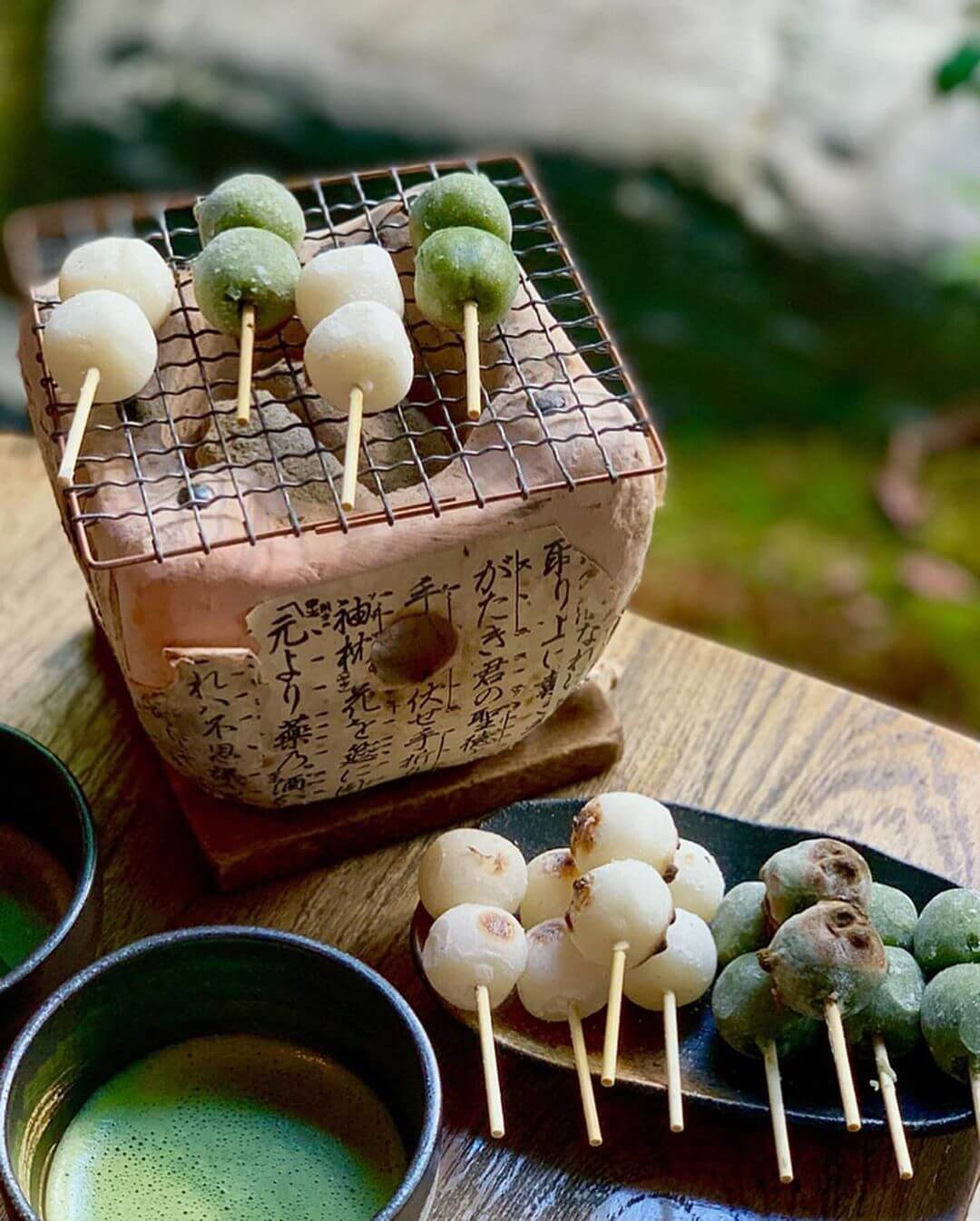 Yaki or grilled dango