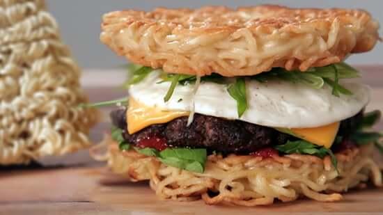 PopSugar's Ramen Burger Recipe