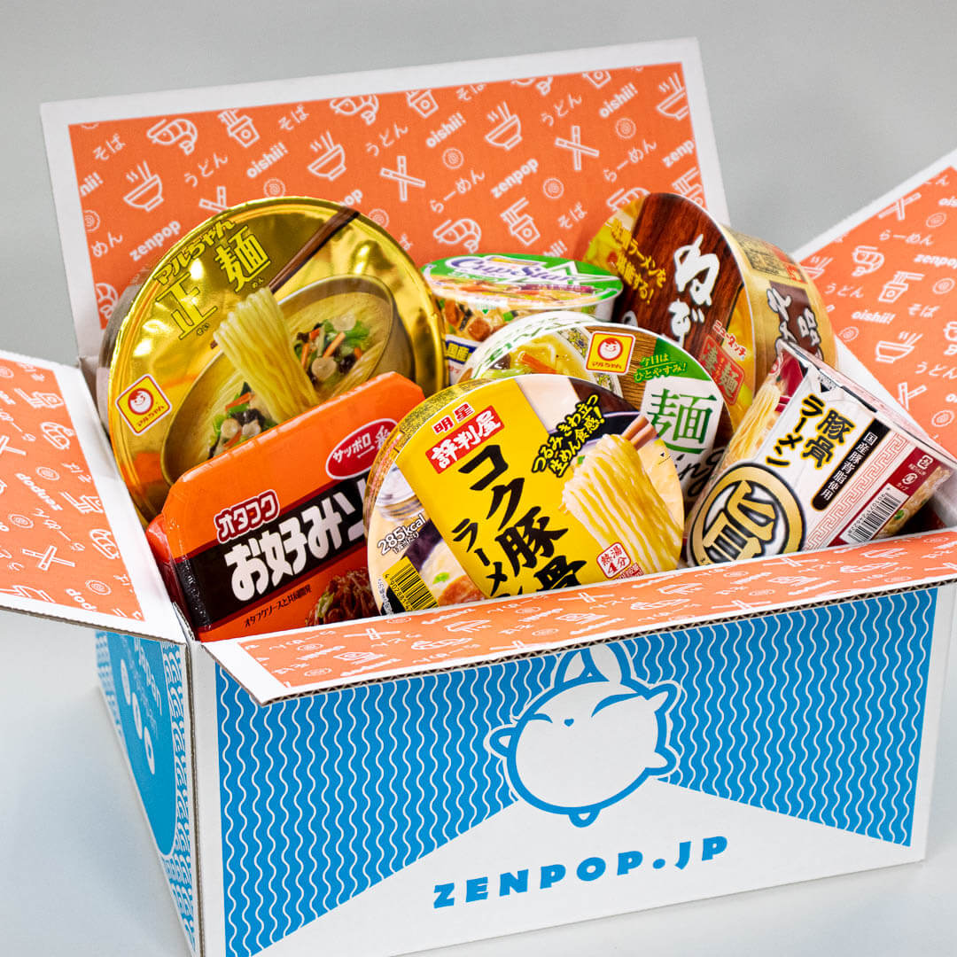 ZenPop's new look Ramen Pack