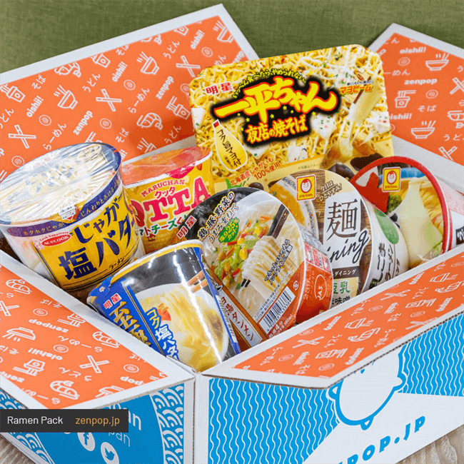 ZenPop's Japanese Ramen Pack: Northern Japan
