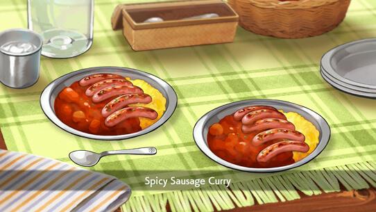 Spicy Sausage Curry in Pokémon Sword and Pokémon Shield