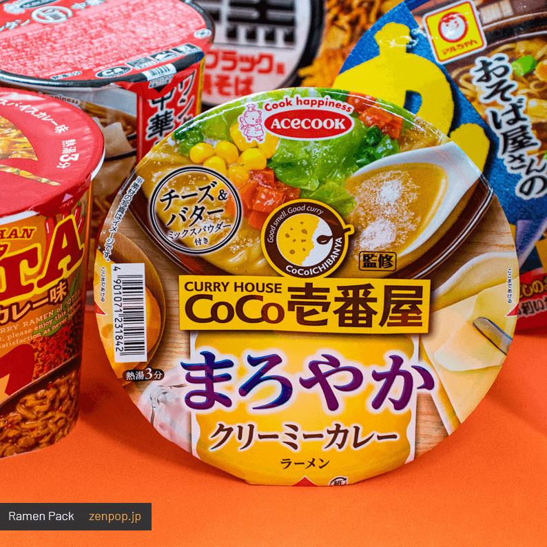ZenPop's Curry Cravings Ramen Pack