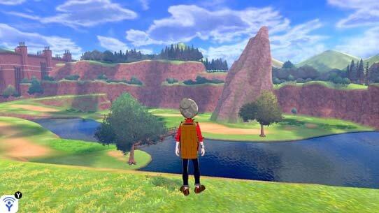 The Wild Area in Pokémon Sword and Pokémon Shield