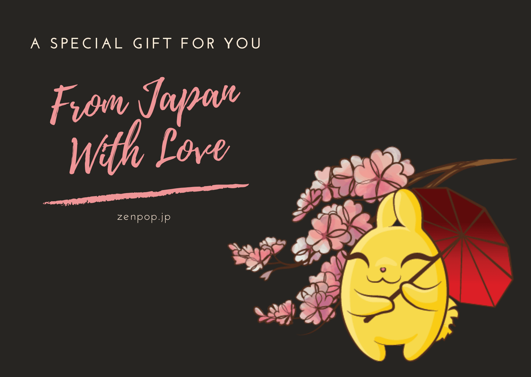 ZenPop Card - From Japan With Love