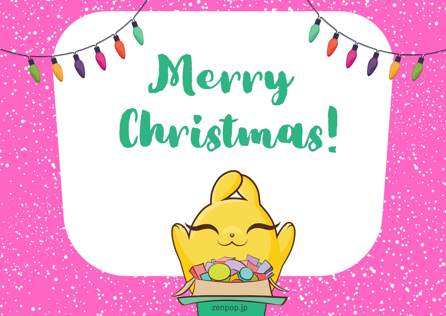 ZenPop Card - Christmas 3