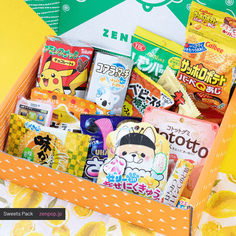 ZenPop's Japanese Sweets Pack