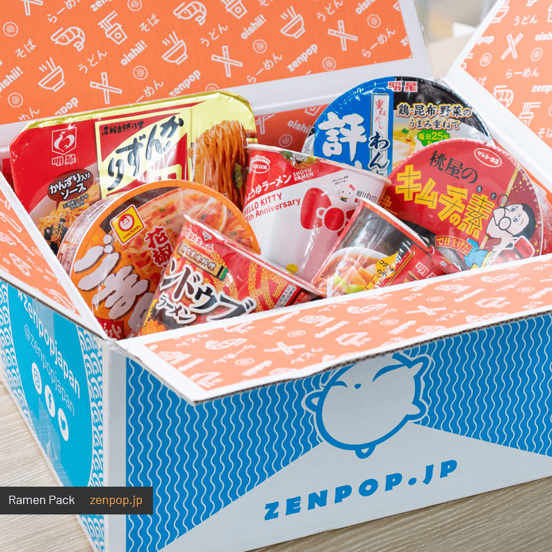 ZenPop's Japanese Ramen Pack