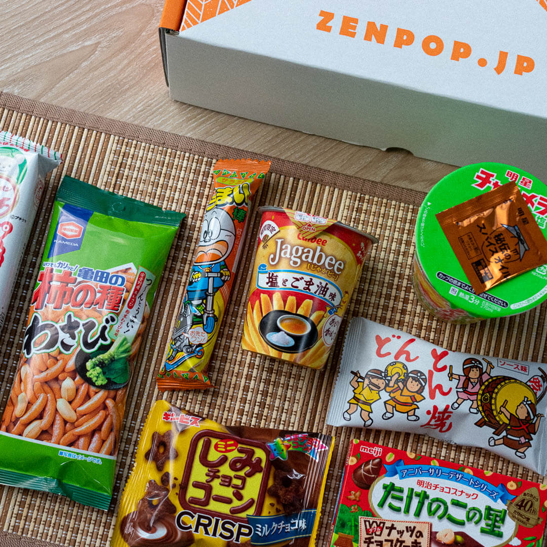 ZenPop's Ramen + Sweets Mix Pack