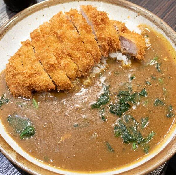 Tonkotsu Curry at Coco Ichibanya