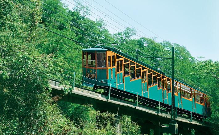 Mt Rokko's Retro Cable Car
