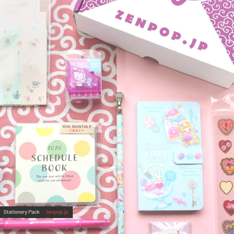 ZenPop's Japanese Stationery Pack - Pastel Fairy Tale