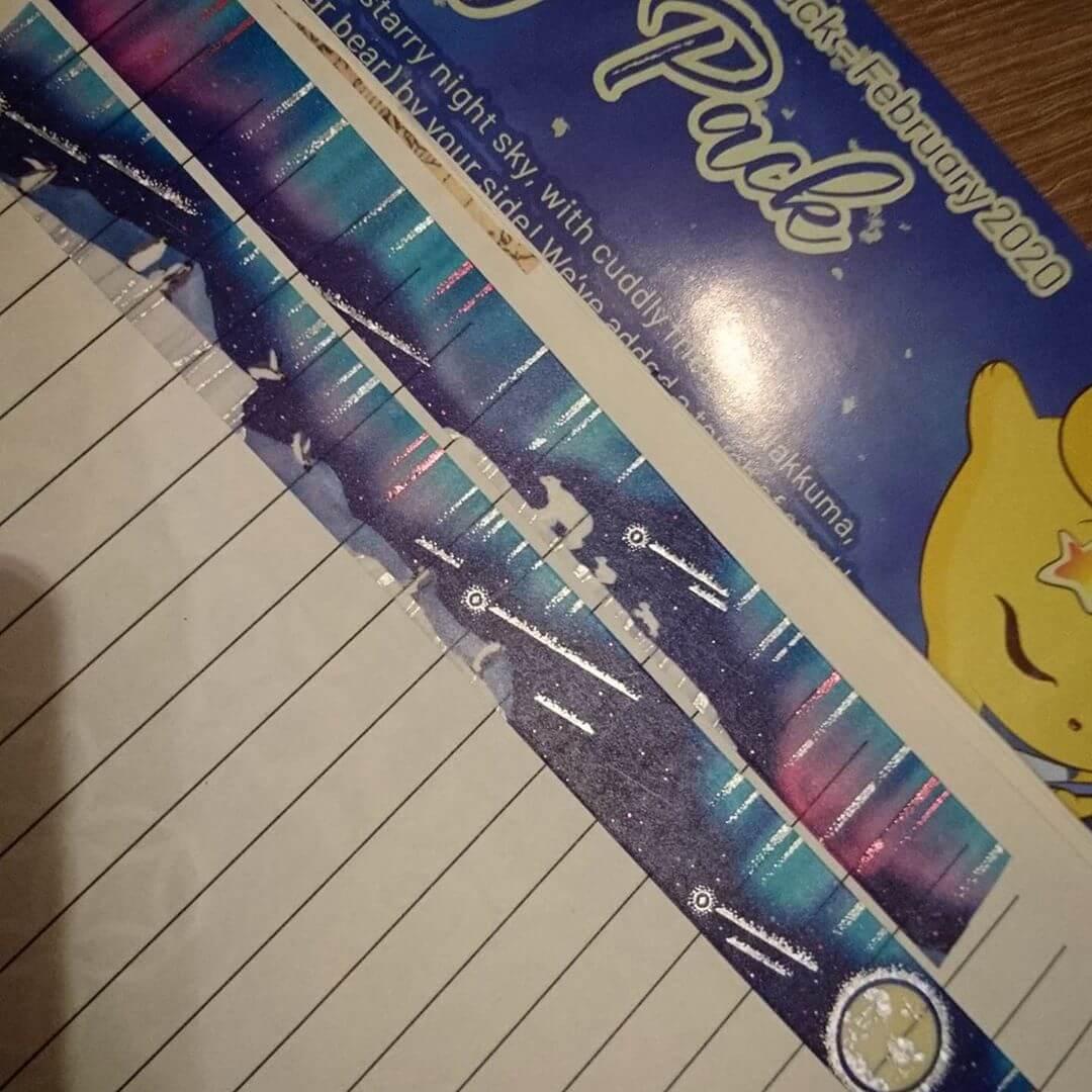 Instagram: ZenPop's Starry Night Japanese Stationery Subscription Box