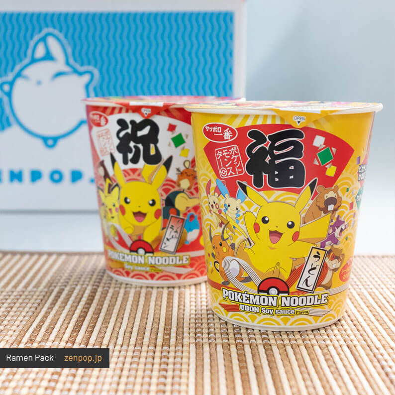 ZenPop's Japanese Ramen Subscription Box