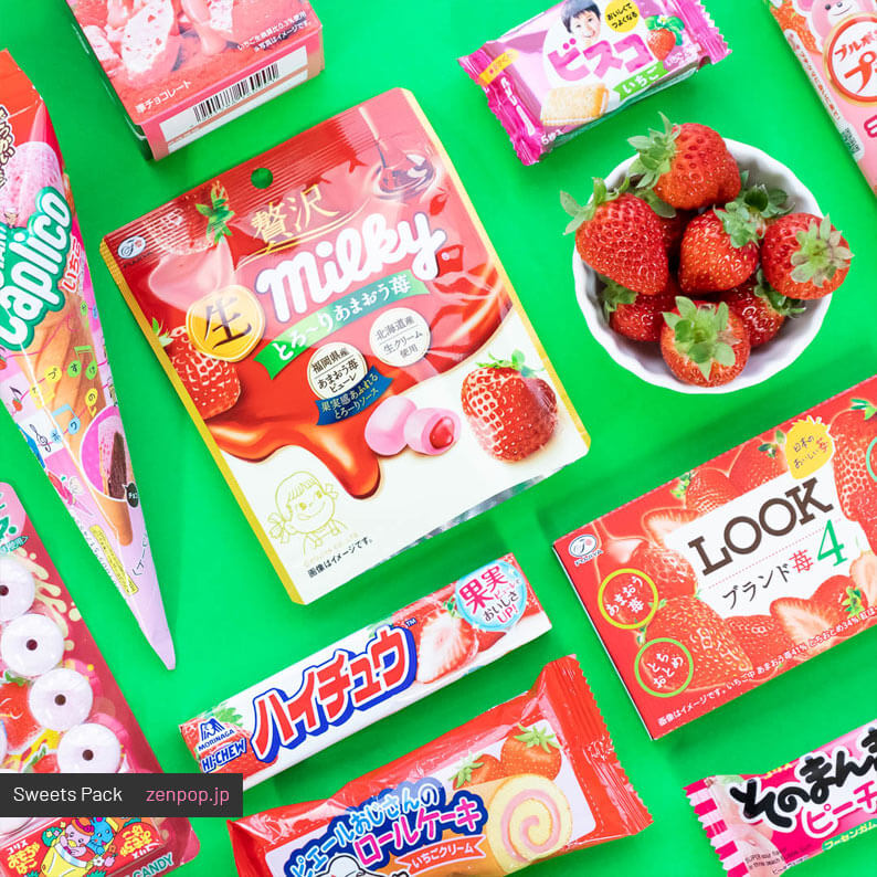 ZenPop's Japanese Sweets Subscription Box