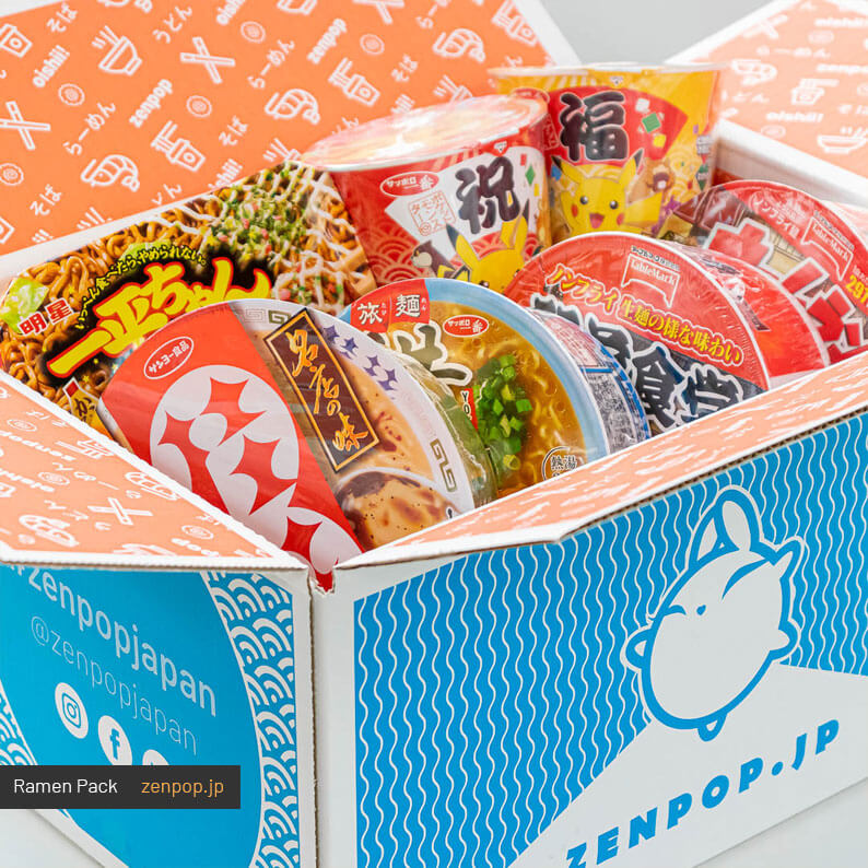 ZenPop's Japanese Ramen Subscription Box