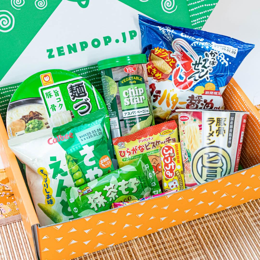 ZenPop's Ramen & Sweets Mix Pack