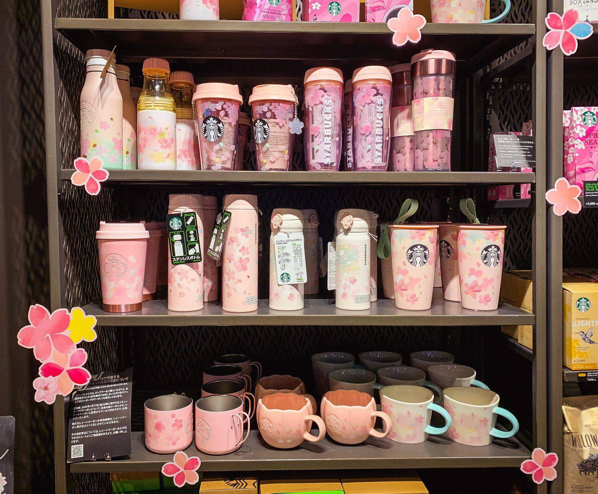 Starbucks Japan's brand new SAKURA merchandise collection