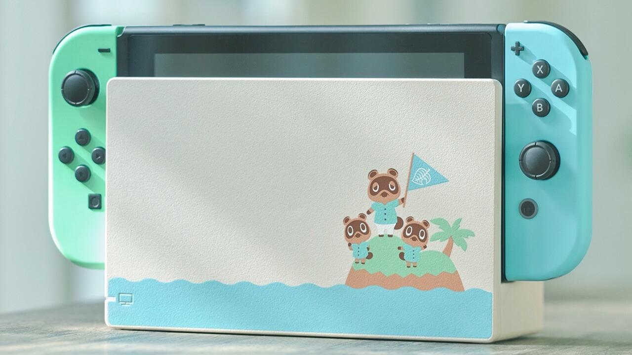 Animal Crossing Special Edition Console