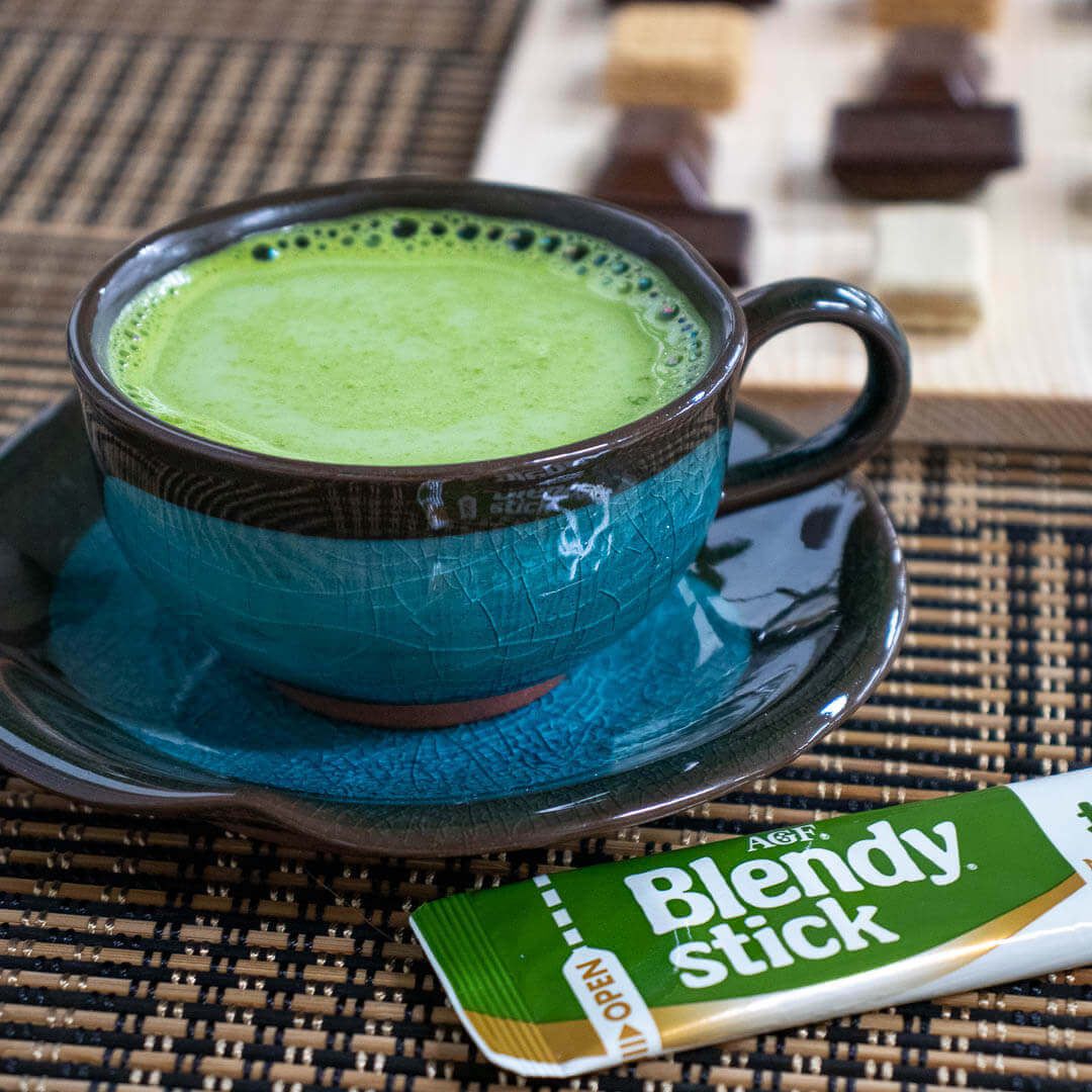 Bonus Gift in all ZenPop Sweets Packs: Matcha Au Lait Blendy Stick
