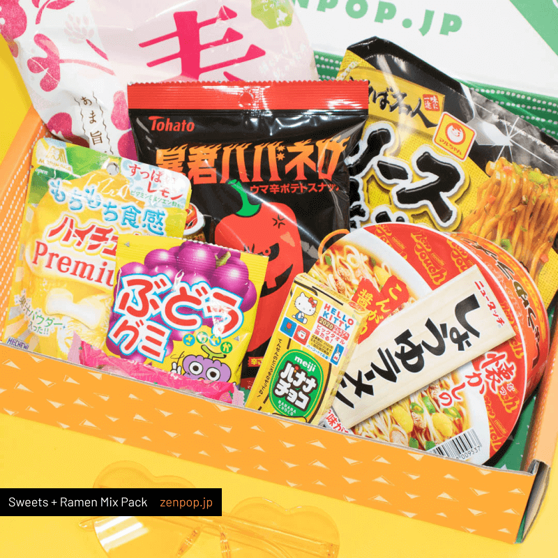 ZenPop's Japanese Ramen + Sweets Mix Pack