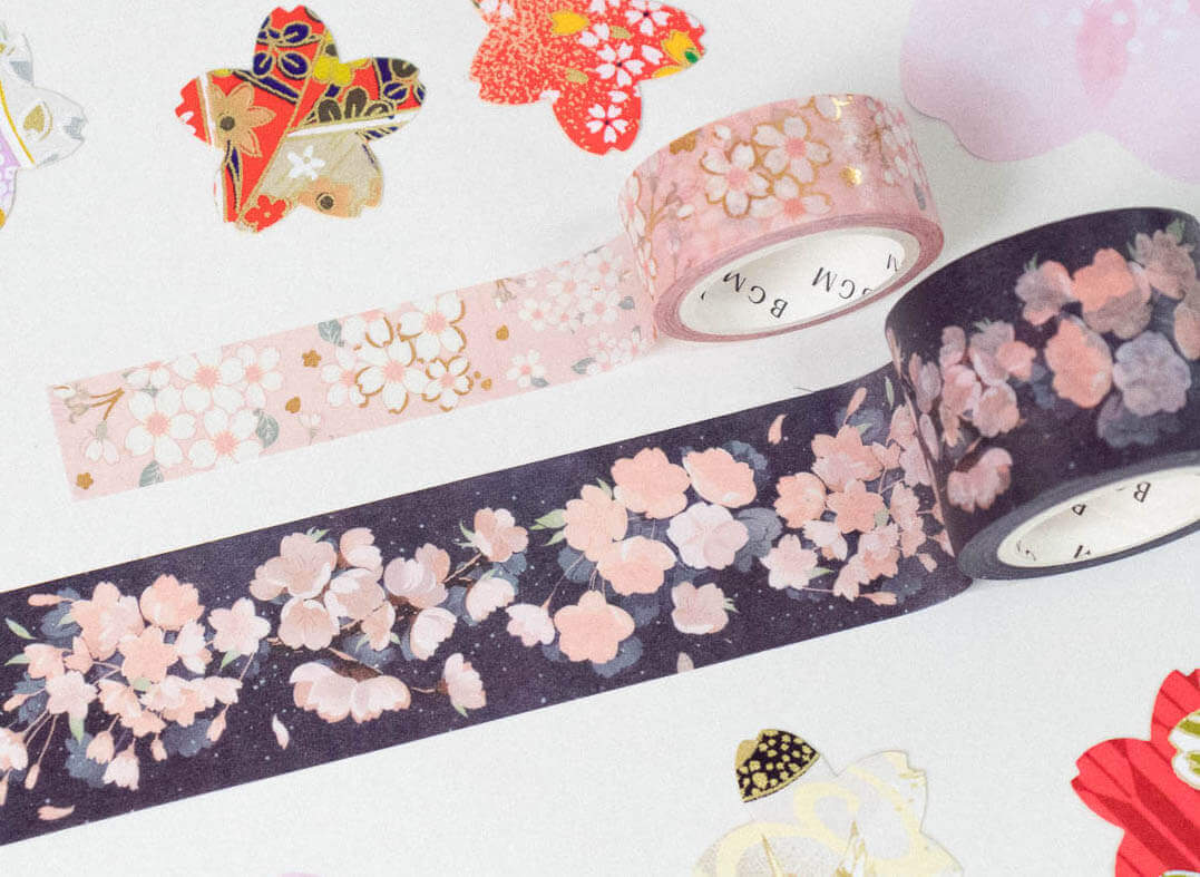 Washi tapes from a previous Sakura Stationery Pack!