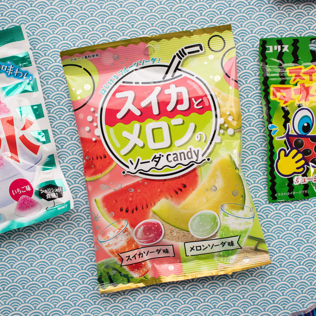 ZenPop Sweets - Watermelon and Melon Soda Candy