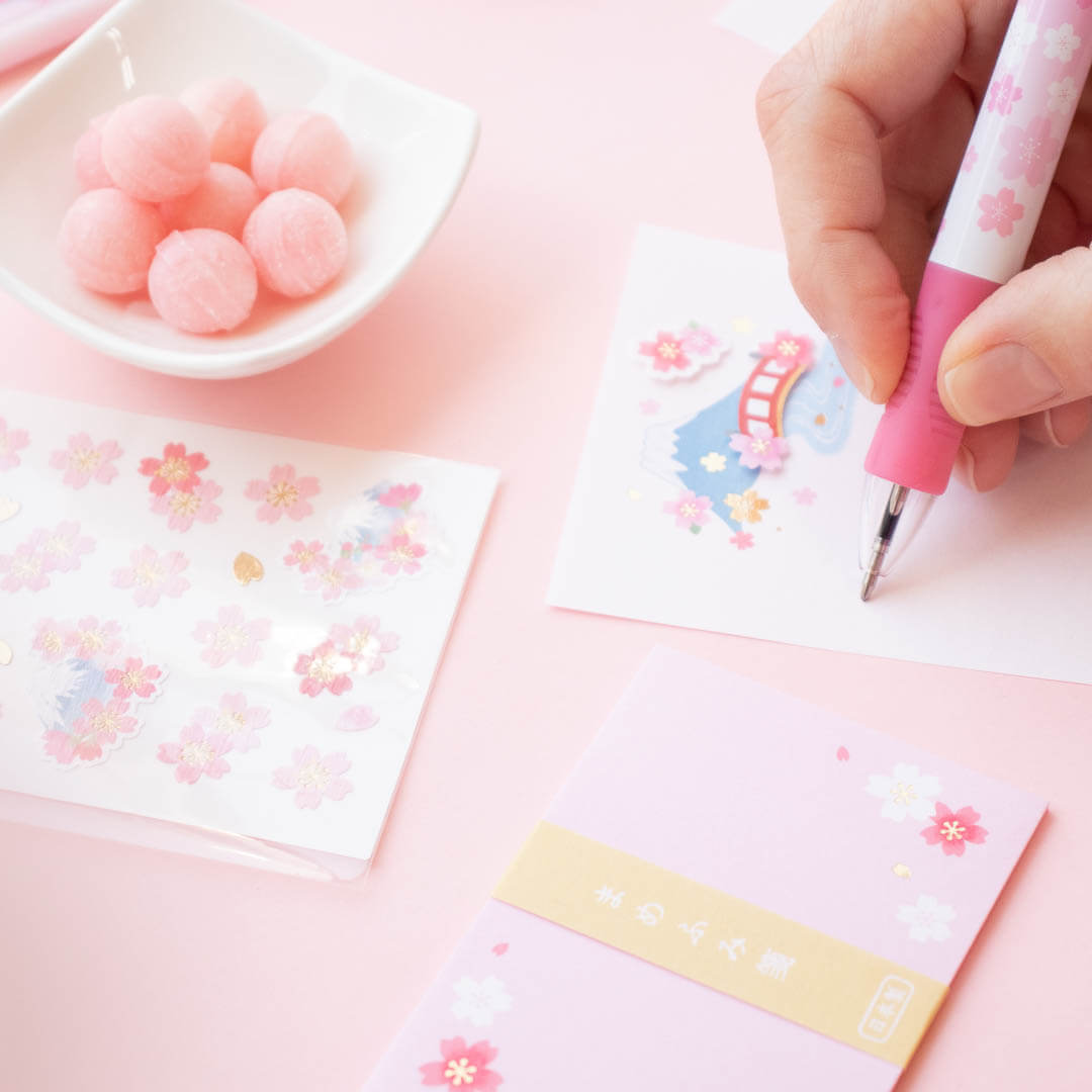 ZenPop's Sakura Sweets & Stationery Limited Edition Pack