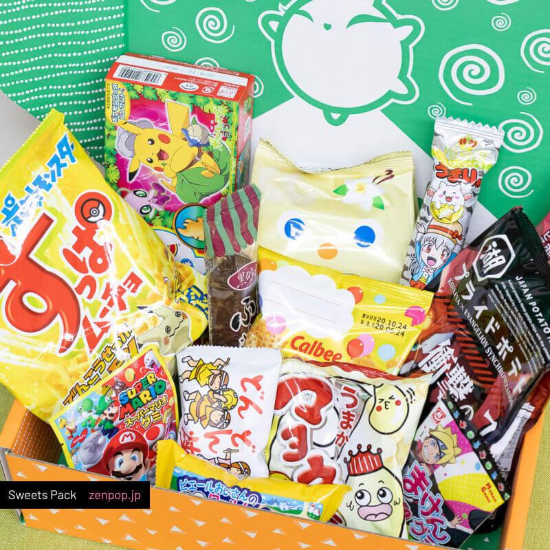 ZenPop's Japanese Sweets Pack