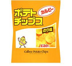 Calbee's Potato Man