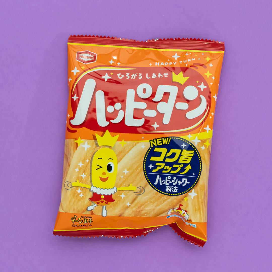 Happy Turn snacks in September's Mix Pack