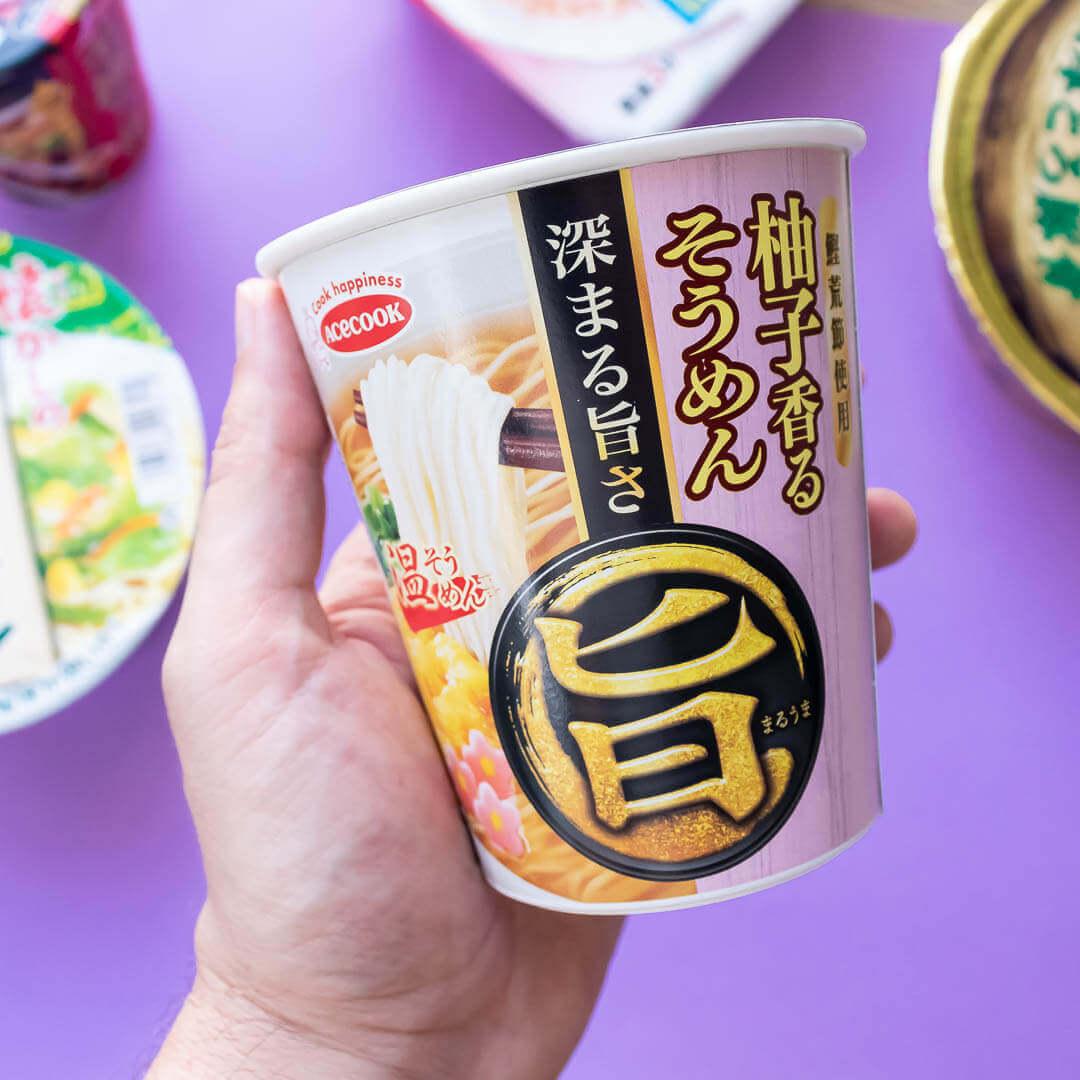 ZenPop's September Local Favorites Ramen Pack: Yuzu Soumen