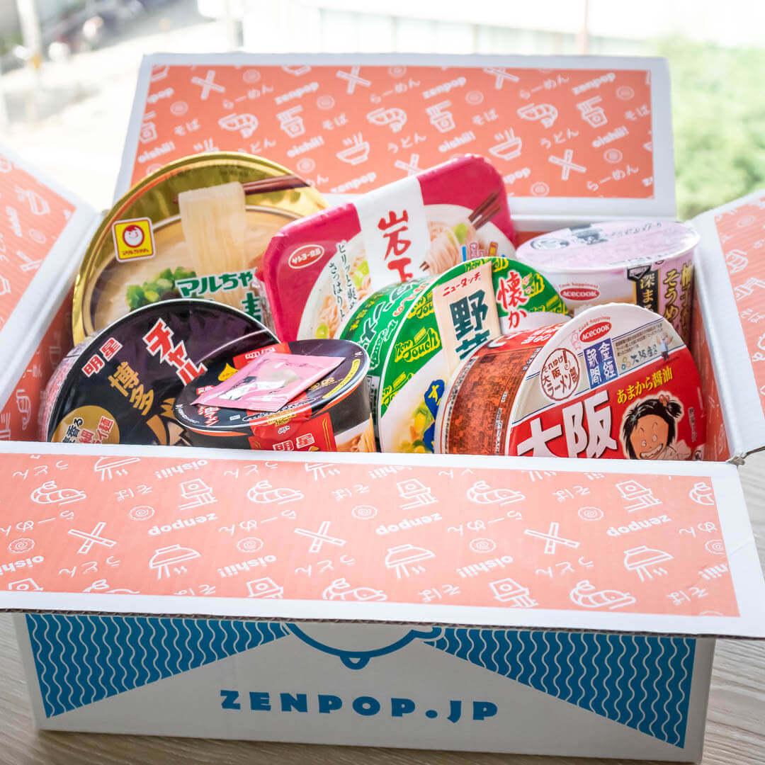 ZenPop's September Local Favorites Ramen Pack