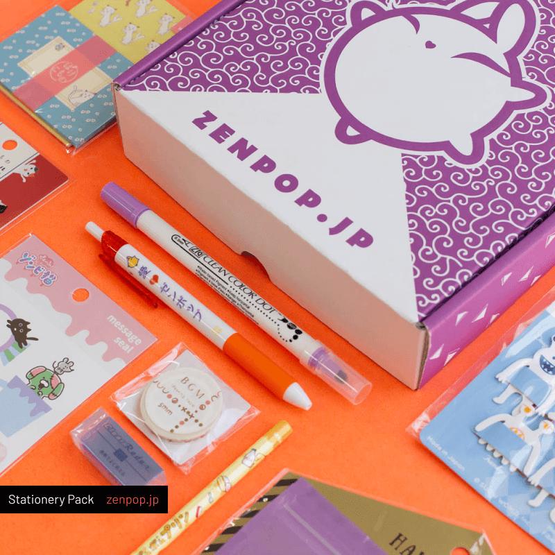 ZenPop's Japanese Stationery Subscription Box