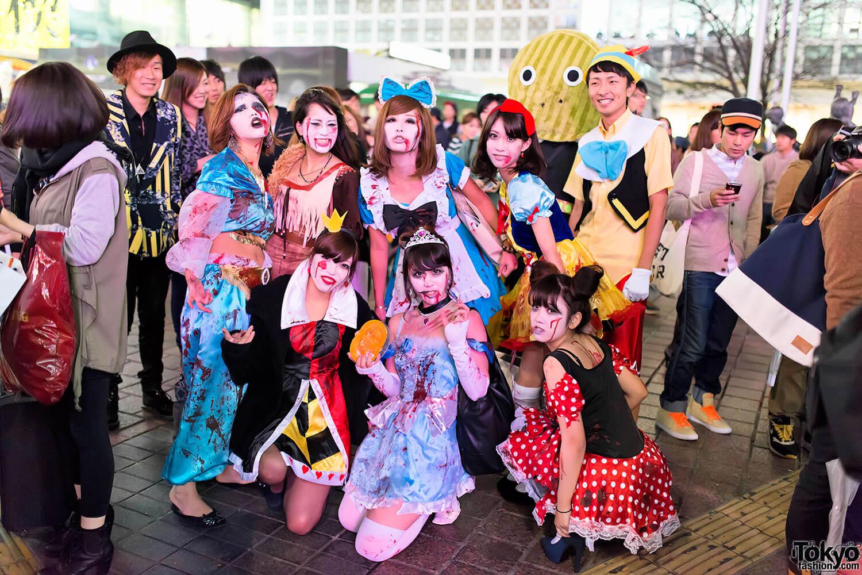 Halloween Zombie Princesses