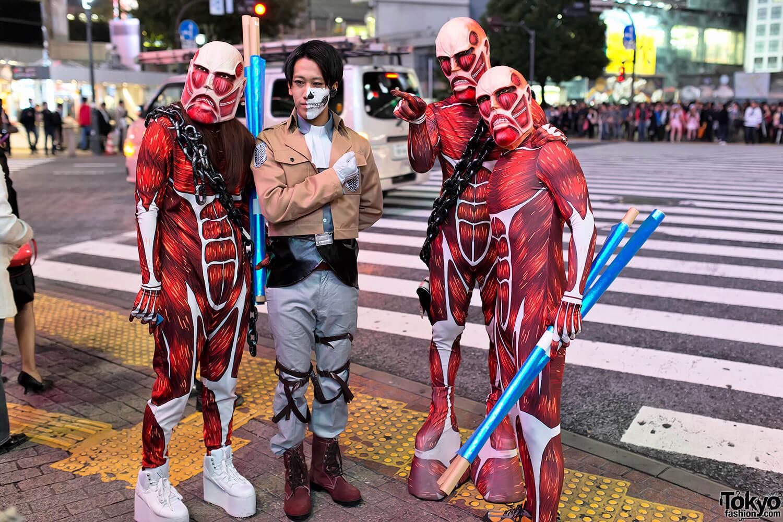 Halloween Attack on Titan