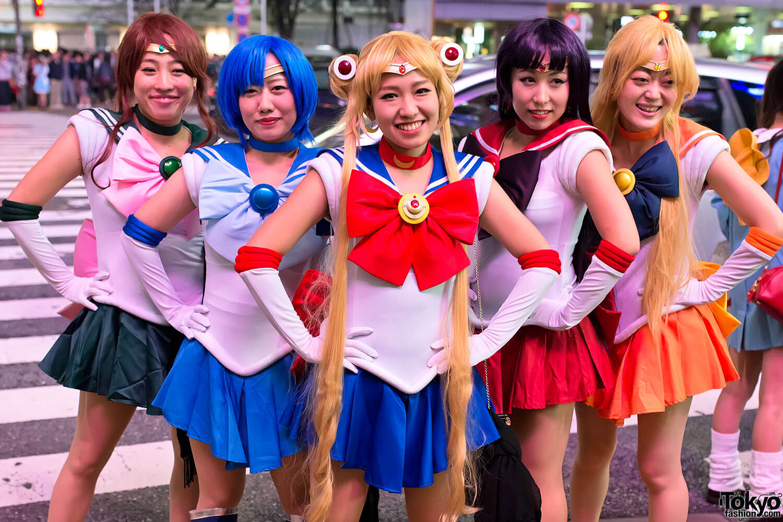 Halloween Sailor Moon Costume