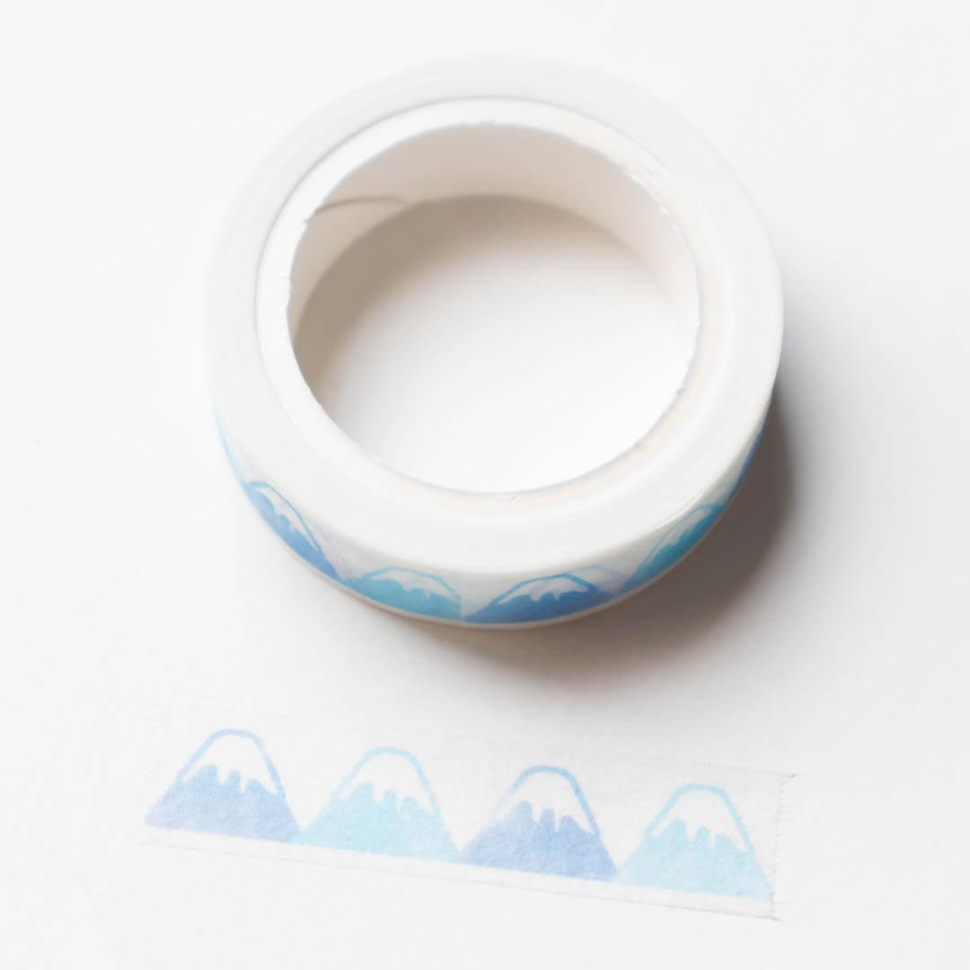 Pine Book Mt Fuji Perforated Washi Tape