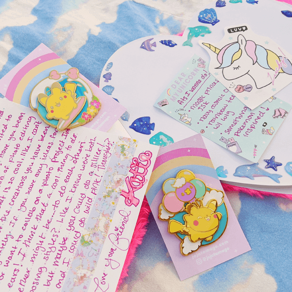 Decorate your pen pal letters