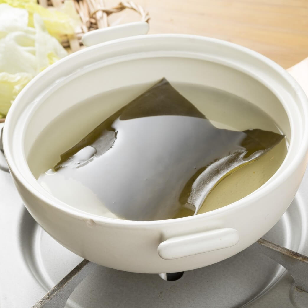 Dashi or Japanese soup stock
