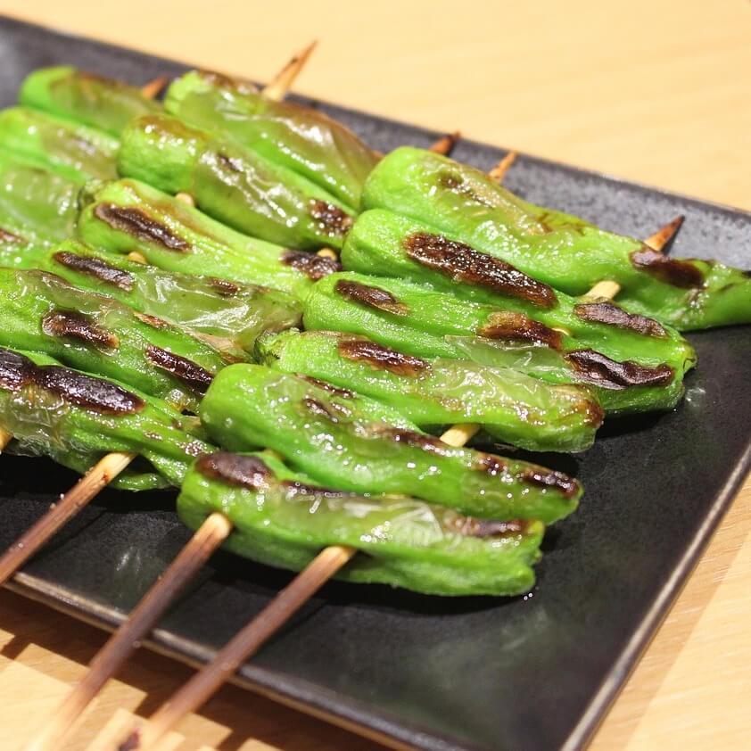 Shishito at Yakitori Restaurant