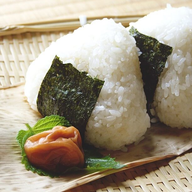 Onigiri or Japanese Rice Balls