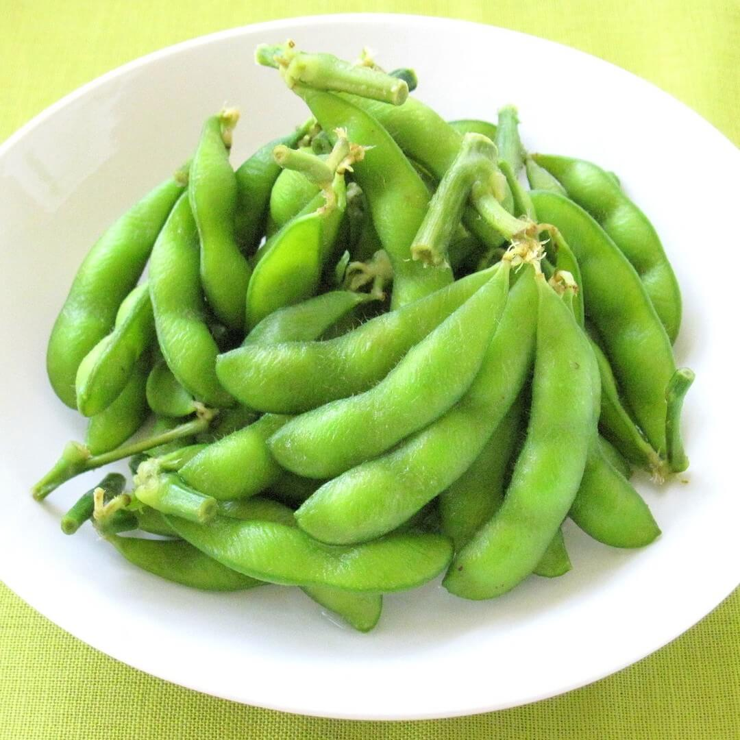 Edamame or Green Soybeans
