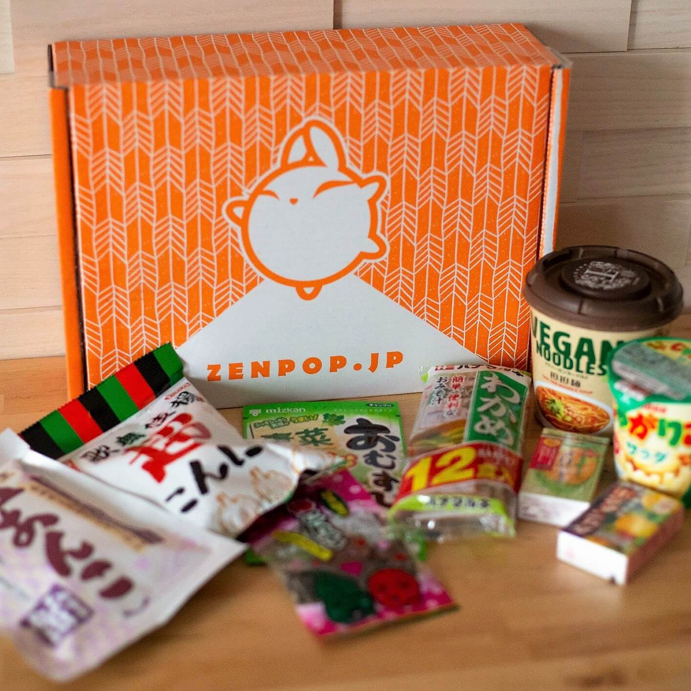 ZenPop's Limited Edition Vegetarian Snack Pack